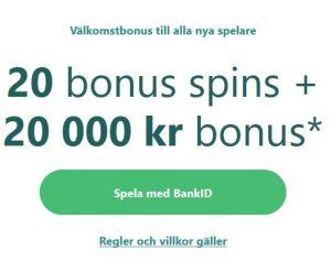 Hämta casino bonus med faktura på Casumo!