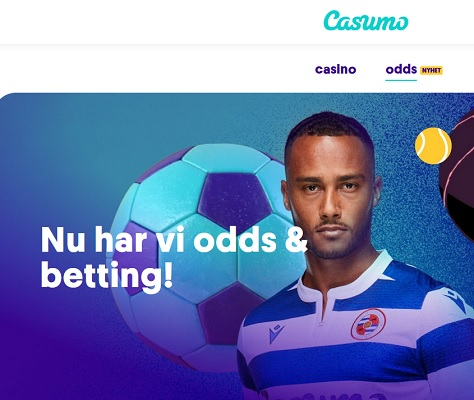 Casumo introducerar odds på casino faktura!