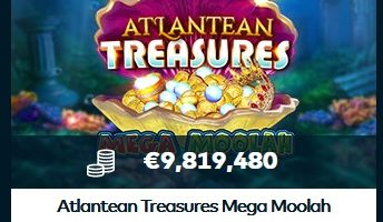 Atlantean Treasures Mega Moolah hos Fun Casino!