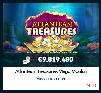Atlantean Treasures Mega Moolah hos Fun Casino!