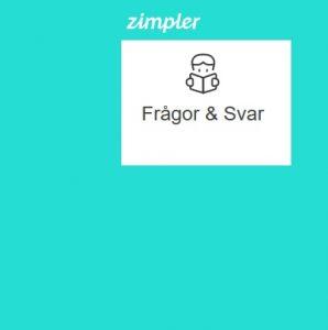 Frågor och svar om betalmetoden Zimpler!